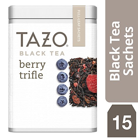 TAZO Black Tea Berry Trifle - 15 Count