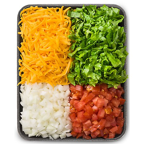 Fresh Cut Taco Fixings - 24 Oz