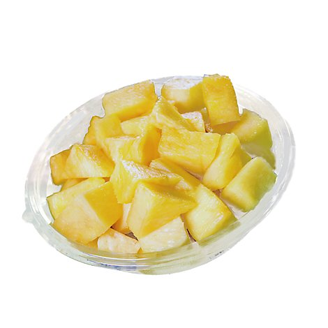 Fresh Cut Pineapple Wedges - 16 Oz