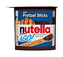 Nutella & Go! Spread Hazelnut with Cocoa Pretzel - 12-1.8 Oz