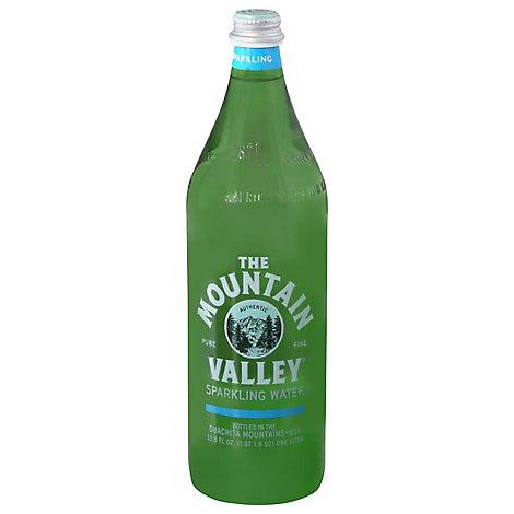 The Mountain Valley Spring Water Sparkling - 1 Liter