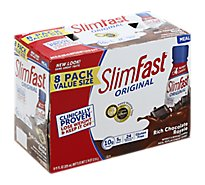 SlimFast Meal Replacement Shake Rich Chocolate Royale - 8-10 Fl. Oz.