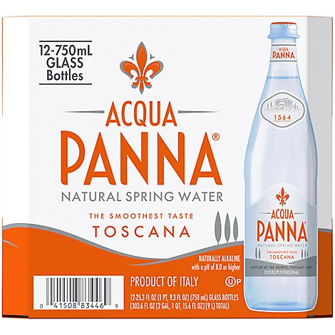Acqua Panna Spring Water Natural - 12-750 Ml