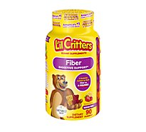 Lil Critters Fiber Supplement Gummy Bear Supports Digestive Health - 90 Count