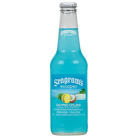 Seagrams Escapes Calypso Colada In Bottles - 11.2 Fl. Oz.