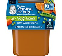 Gerber 2nd Foods Baby Food Mixed Vegetables - 2-4 Oz