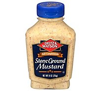 Dietz & Watson Mustard Stone Ground - 9 Oz