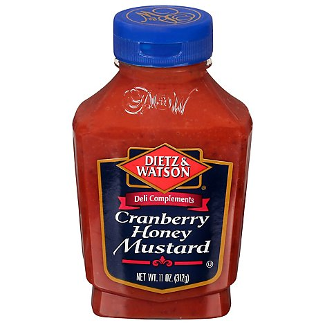 Dietz & Watson Cranberry Honey Mustard - 11 Oz