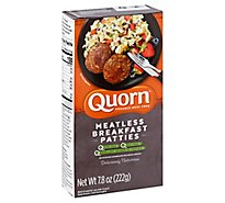 Quorn Meatless Patties Breakfast Non GMO Soy Free - 7.8 Oz
