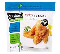 Gardein Meat-Free Meals Fishless Filets Golden - 6 Count