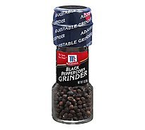 McCormick Seasoning Grinder Black Peppercorn - 1 Oz