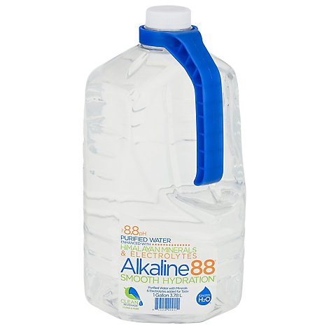 Alkaline88 Purified Water 8.8 pH - 1 Gallon