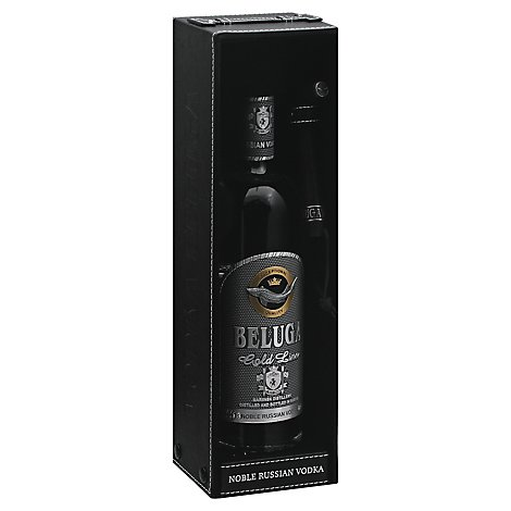 Beluga Vodka Noble Gold 80 Proof - 750 Ml