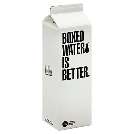 Boxed Water is Better Drinking Water Purified - 33.8 Fl. Oz.