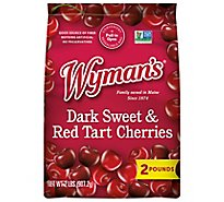 Wymans Cherries Dark Sweet With Red Tart - 2 Lb