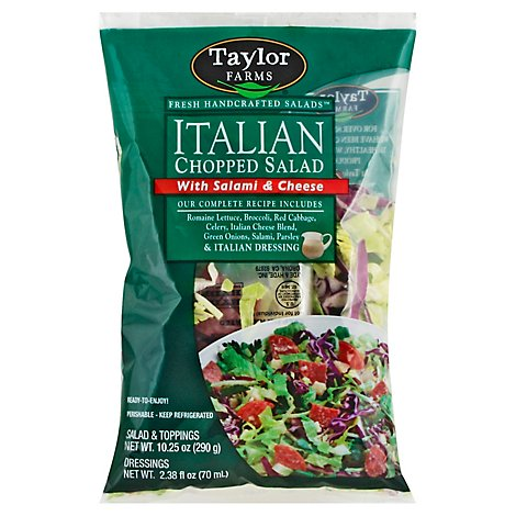 Taylor Farms Chopped Salad Italian - 12.75 Oz