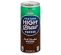 High Brew Coffee Cold-Brew Dark Chocolate Mocha - 8 Fl. Oz.