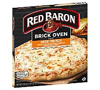 Red Baron Pizza Brick Oven Crust Cheese Trio - 17.82 Oz