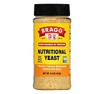 Bragg Seasoning Yeast Nutritional Premium - 4.5 Oz
