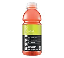 vitaminwater Water Beverage Nutrient Enhanced Refresh Tropical Mango - 20 Fl. Oz.