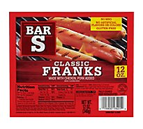 Bar-S Franks - 12 Oz