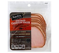 Signature SELECT Bacon Uncured Canadian - 5 Oz