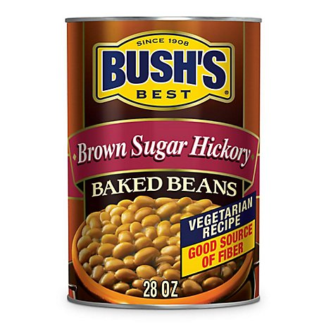 BUSHS BEST Beans Baked Brown Sugar Hickory - 28 Oz