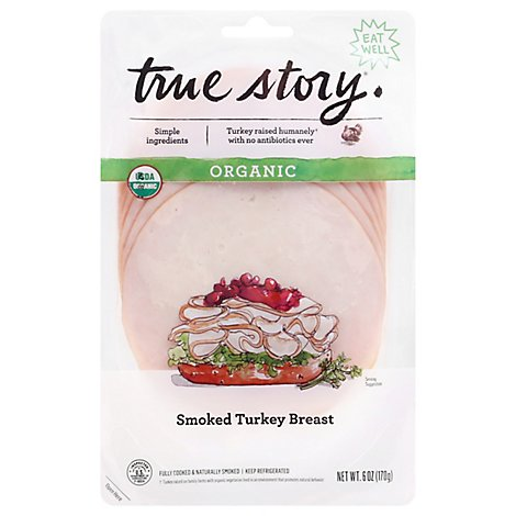 True Story Smoked Turkey Breast - 6 Oz