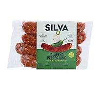 Silva All Natural Jalapeno Pepper Jack Sausage Link - 12 Oz