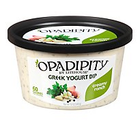 Litehouse Opadipity Dip Yogurt Greek Creamy Ranch - 12 Oz
