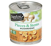 Signature SELECT Mushrooms Pieces & Stems - 7 Oz