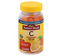 Nature Made Adult Gummies Vitamin C Tangerine - 150 Count