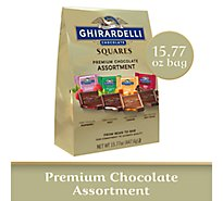Ghirardelli Chocolate Squares Chocolate Premium Assortment - 15.77 Oz