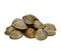 Seafood Counter Clams Littleneck Live Service Case - 1.50 LB