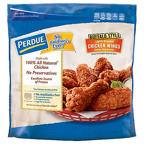 PERDUE Chicken Wings Glazed Buffalo Style - 28 Oz