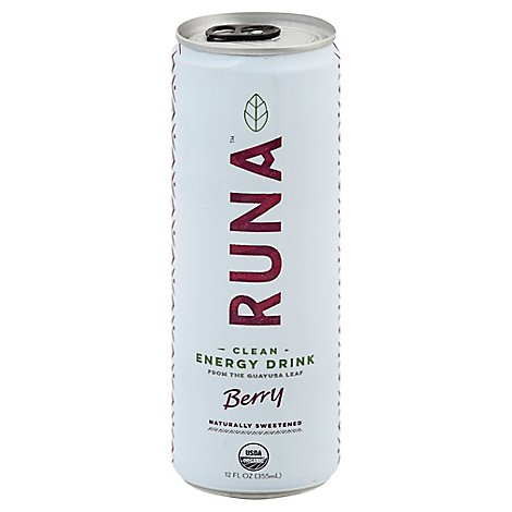 Runa Clean Energy Drink Sparkling Berry  - 12 Fl. Oz.
