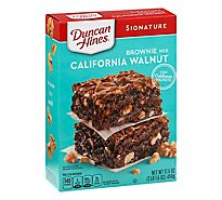 Duncan Hines Decadent Brownie Mix California Walnut - 17.6 Oz