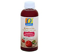 O Organics Organic Raw Fermented Tea Kombucha Raspberry Black Currant - 16 Fl. Oz.
