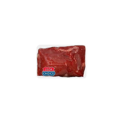 Meat Counter Beef USDA Choice Bottom Round Tenderized Ultimate Steak Seasoned - 1 LB