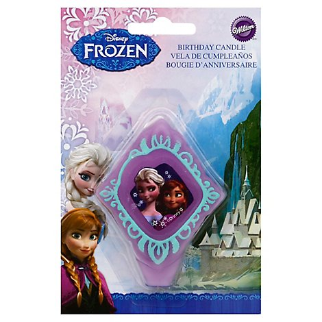 Wilton Candle Birthday Disney Frozen - Each