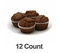 Muffin Mini Bran 12 Count - Each