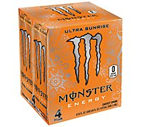Monster Energy Drink Ultra Sunrise - 4-16 Fl. Oz.
