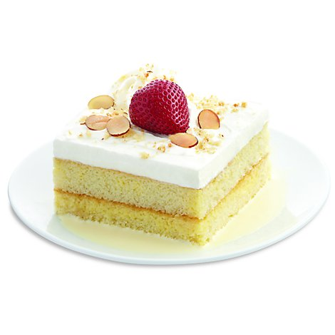 Bakery Cake Bar Small Tres Leche - Each