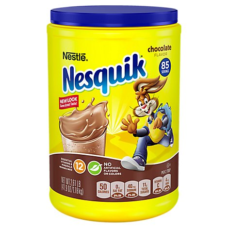 Nesquik Powder Drink Mix Chocolate Flavor - 41.9 Oz