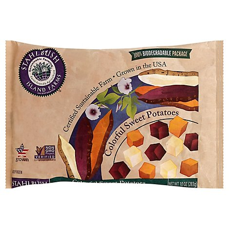 Stahlbush Island Farms Potatoes Sweet Colorful - 10 Oz