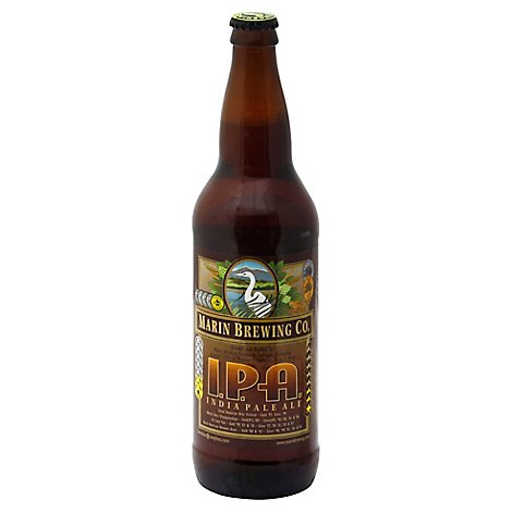 Marin Brewing Ipa In Bottles - 22 Fl. Oz.
