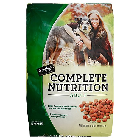 Signature Pet Care Dog Food Adult Complete Nutrition Bag - 15.5 Lb
