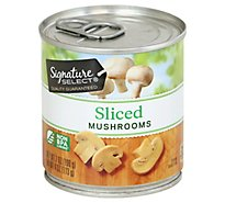 Signature SELECT Mushrooms Sliced - 7 Oz