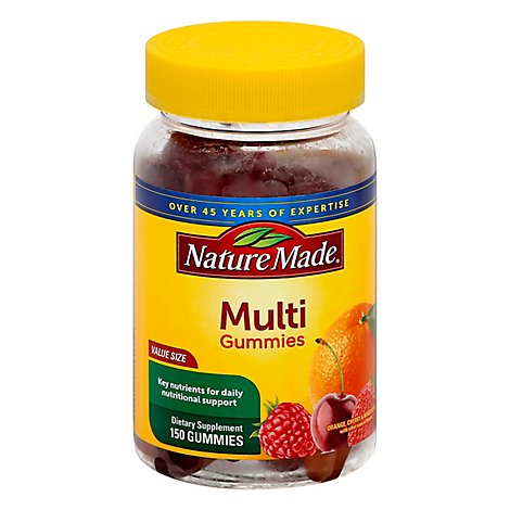 Nature Made Multi Adult Gummie Value Size - 150 Count