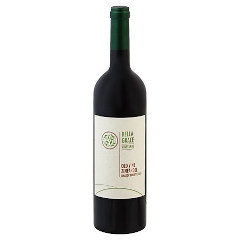 Bellagrace Old Vine Zinfandel Wine - 750 Ml